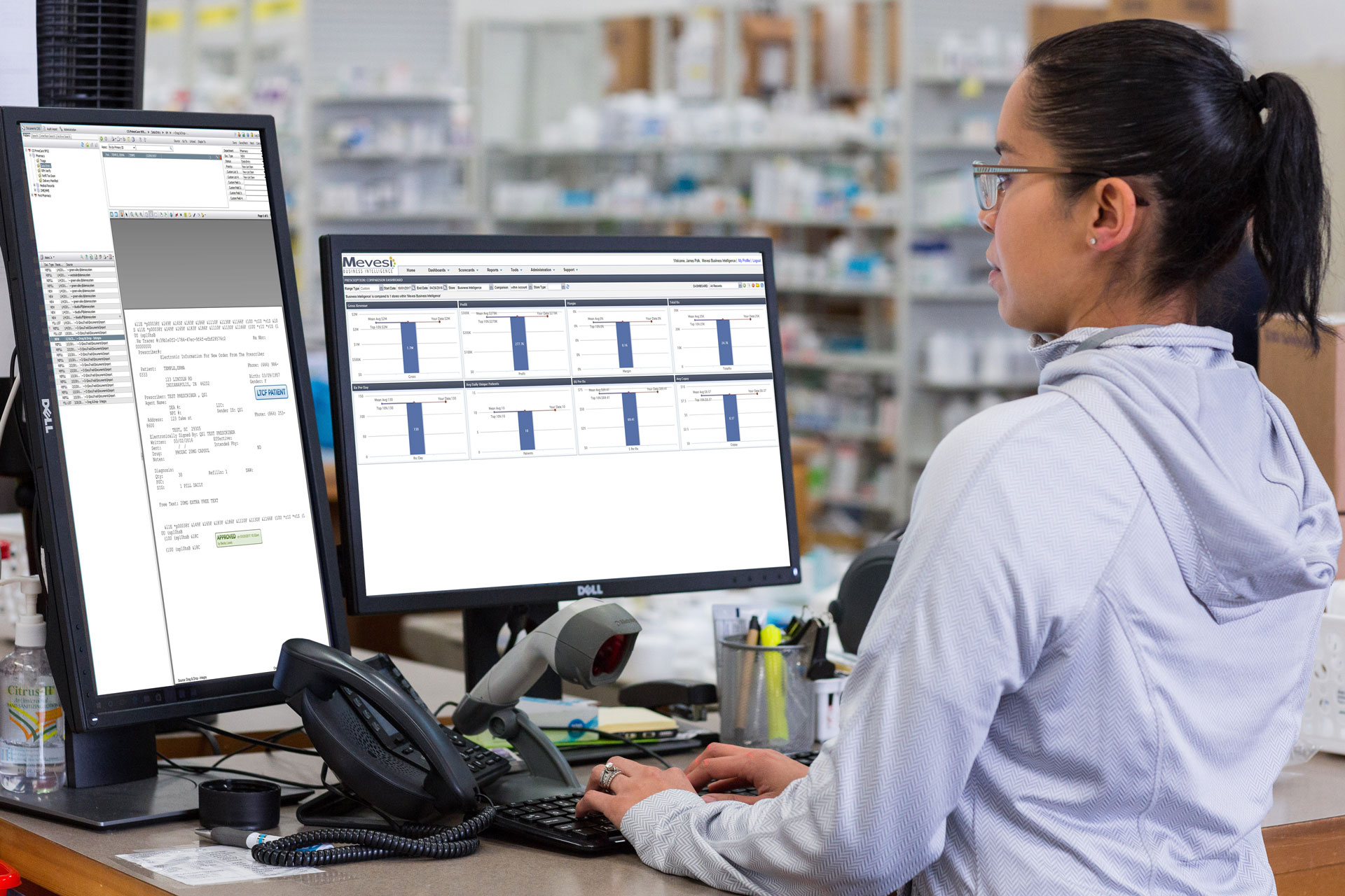 Real-time LTC Pharmacy Analytics Software with Mevesi