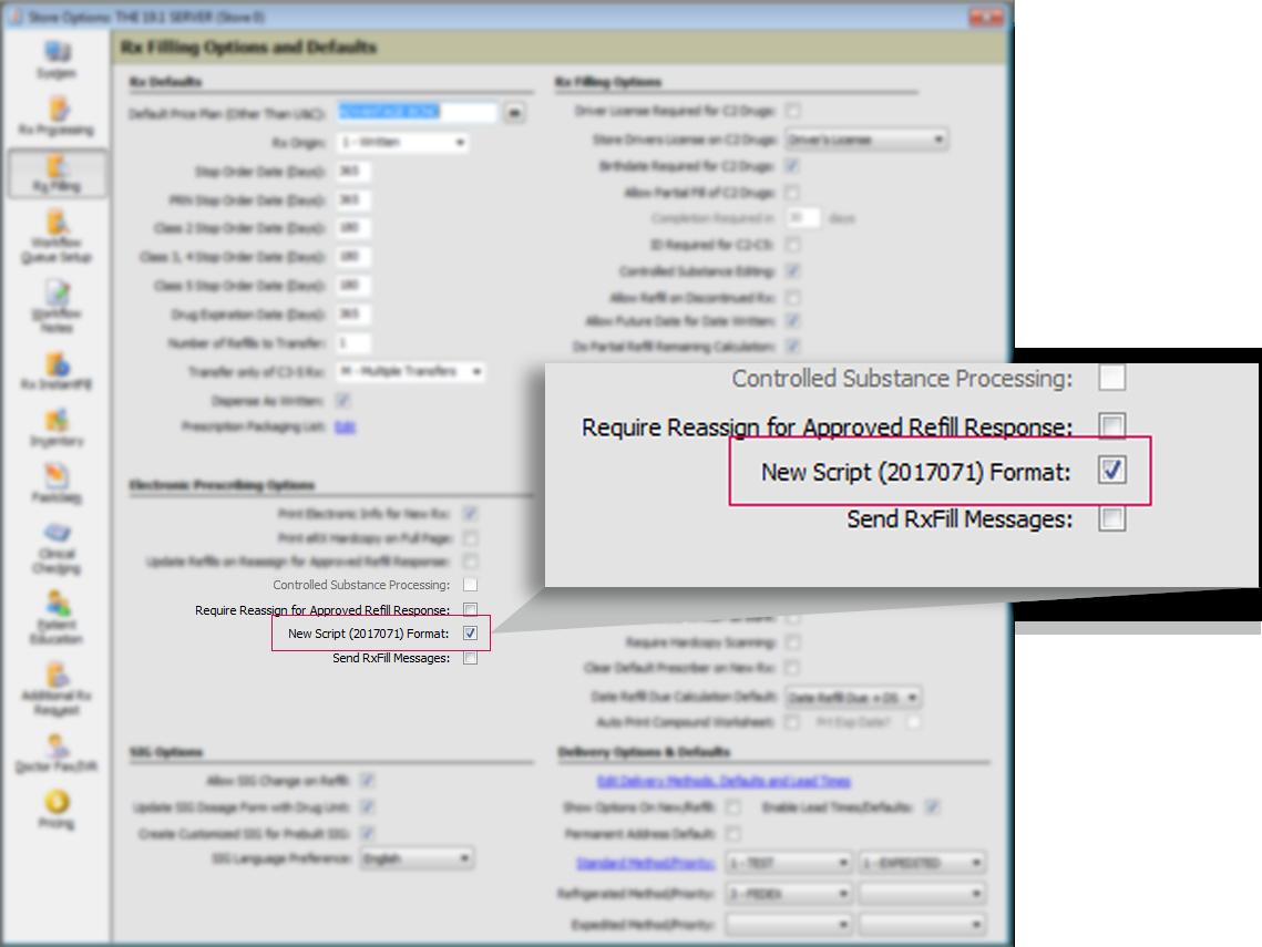 SCRIPT Standard Check Screenshot